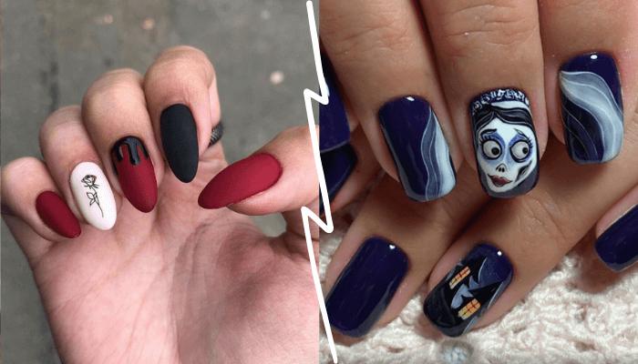 Маникюр на Хэллоуин 2020 30 шикарных идей дизайна ногтей