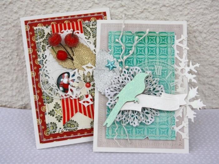 Мастер-класс: как своими руками сделать оригинальную открытку на Рождество?