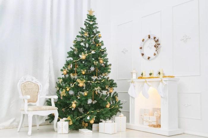 Как красиво нарядить елку на Новый Год: 49 вариантов