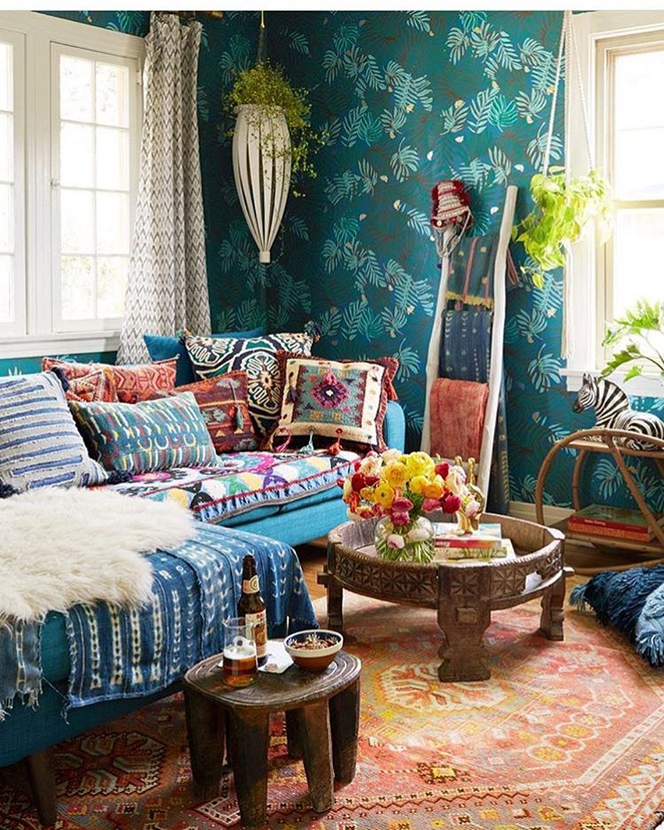 декор, кухня, голубой, цвета, инстгарам, interoir, justina, colorful