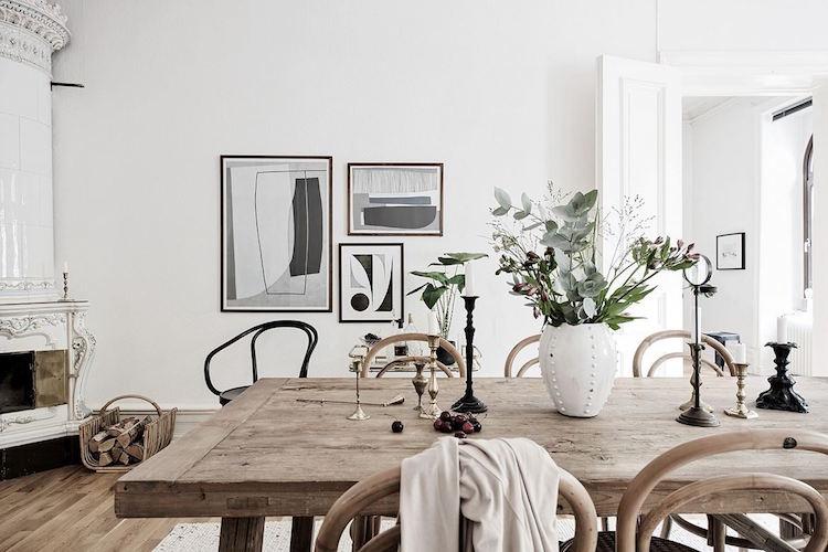 3 квартиры в трех скандинавских столицах - идеи для интерьера