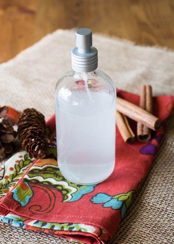 DIY ароматы для дома, спрей для текстиля
