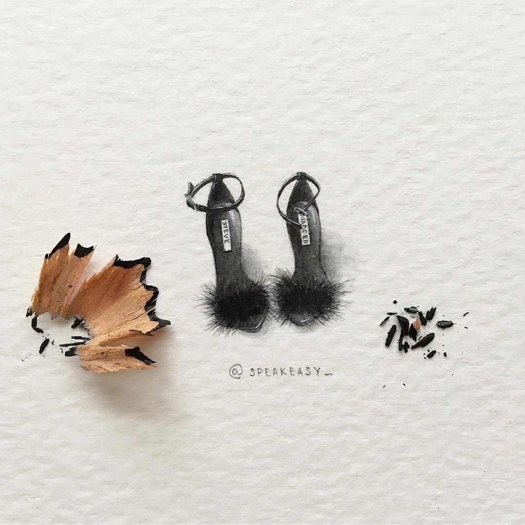 Акварельные миниатюры by Irene Malakhova