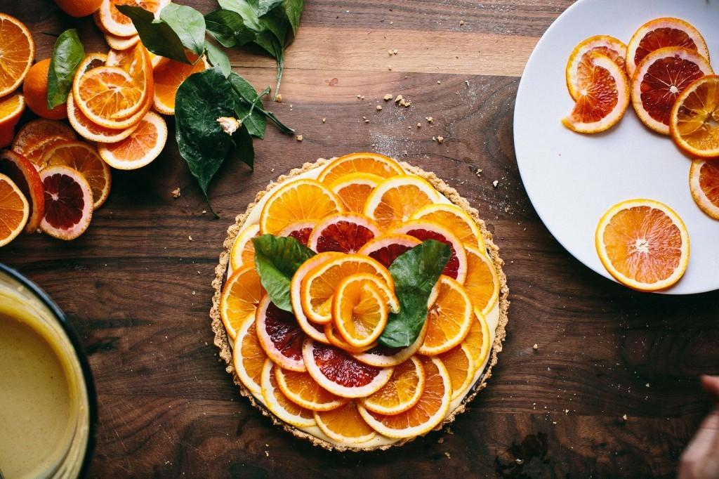 Апельсиново-шоколадный тарт. woman-delice.com