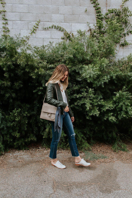 Кожаная куртка, байкерская куртка модели весна-лето 2017