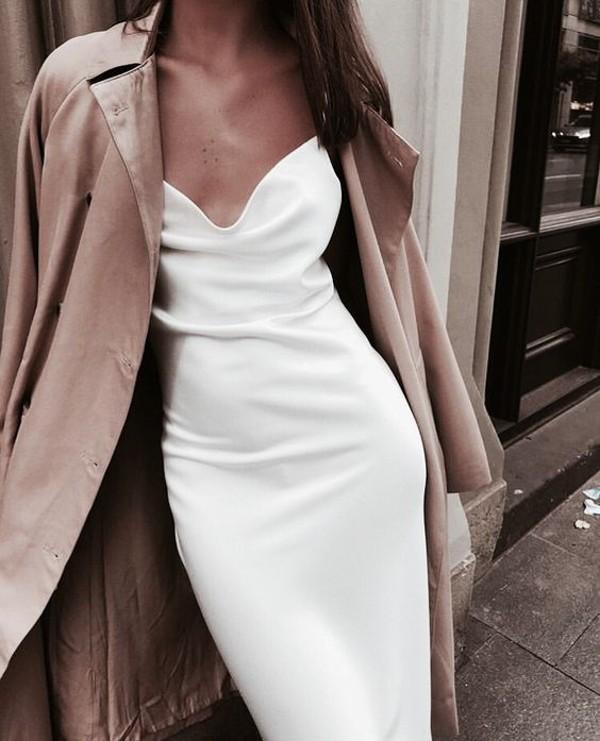 Белые платья 2019 - самое летнее настроение