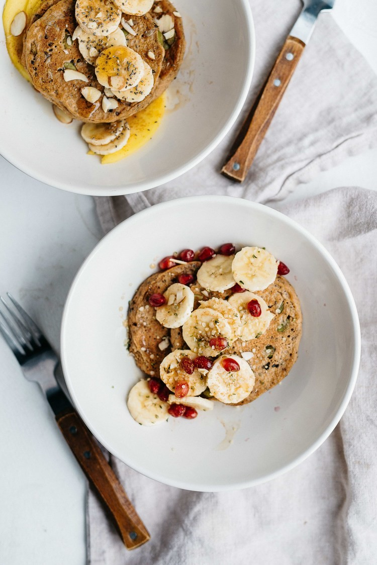 блинчики 8 зерен, завтрак, блины, идеи для завтрака