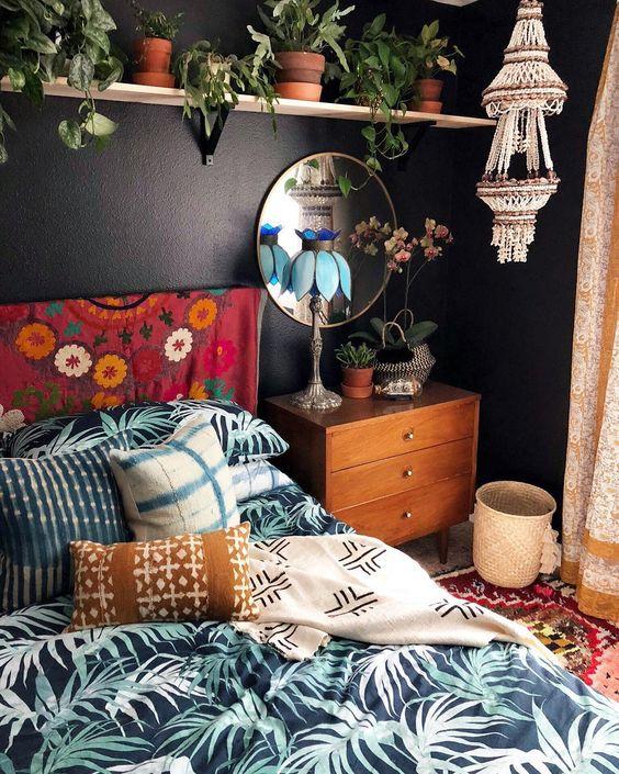 Boho-chic: яркие идеи декора для тех, кто устал от черно-белого