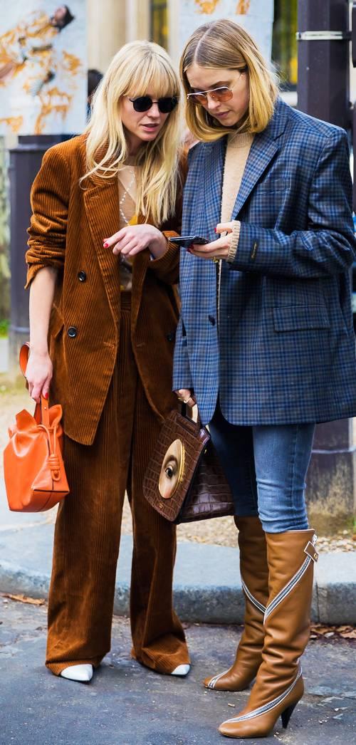Brown: цвет шоколада этой осенью и будущей зимой