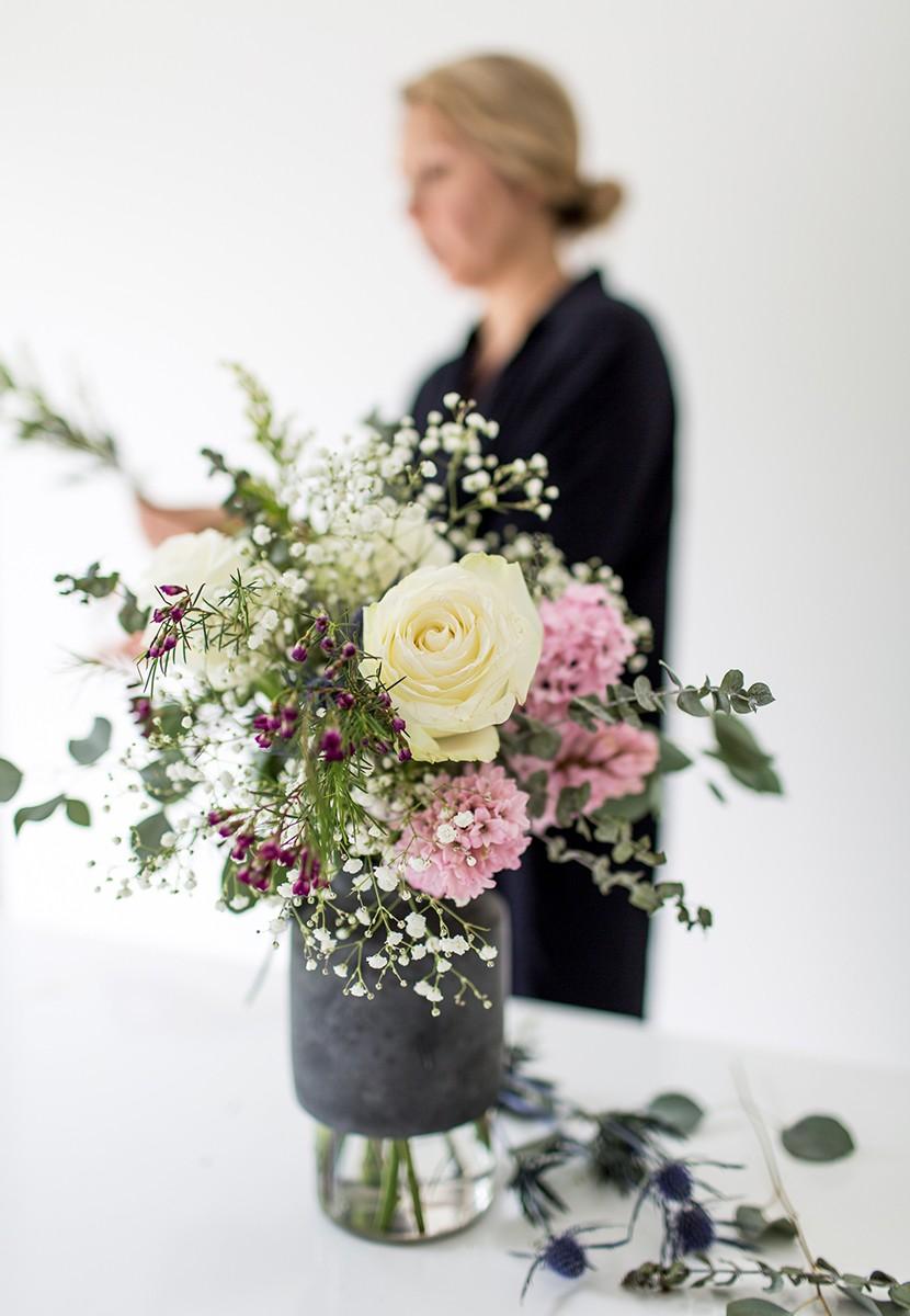 Идеальный букет, розы, флористика. the fresh exchange
