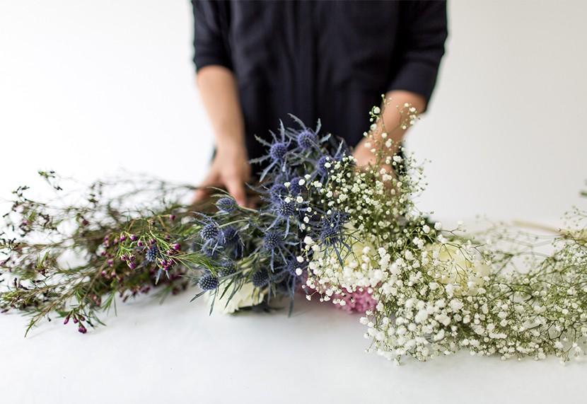 Идеальный букет. Выбор цветков. the fresh exchange