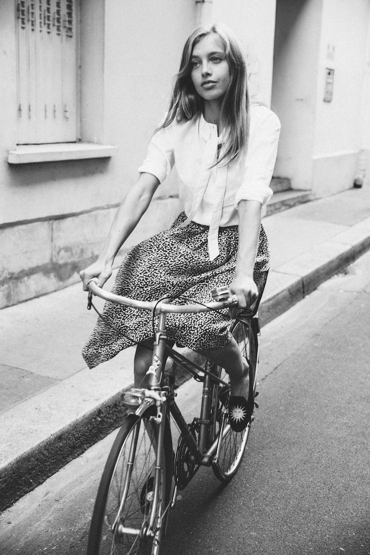 Белая блузка. Парижские бренды. Camille de Dampierre