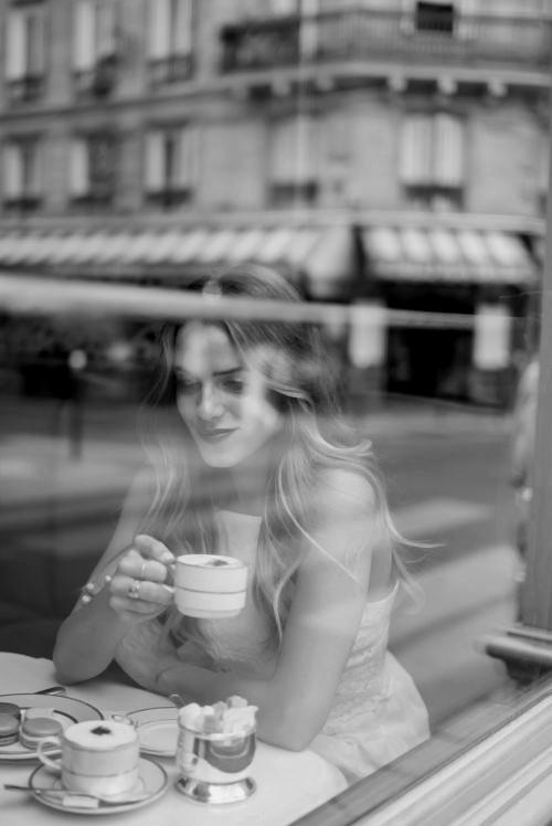 Paris, парижское кафе