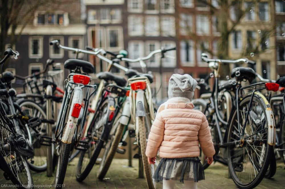 Дети в кадре: одна прогулка по Амстердаму