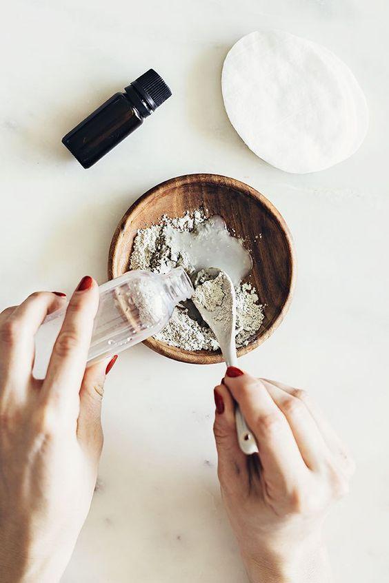 маски из глины, домашняя косметика, рецепты домашних масок