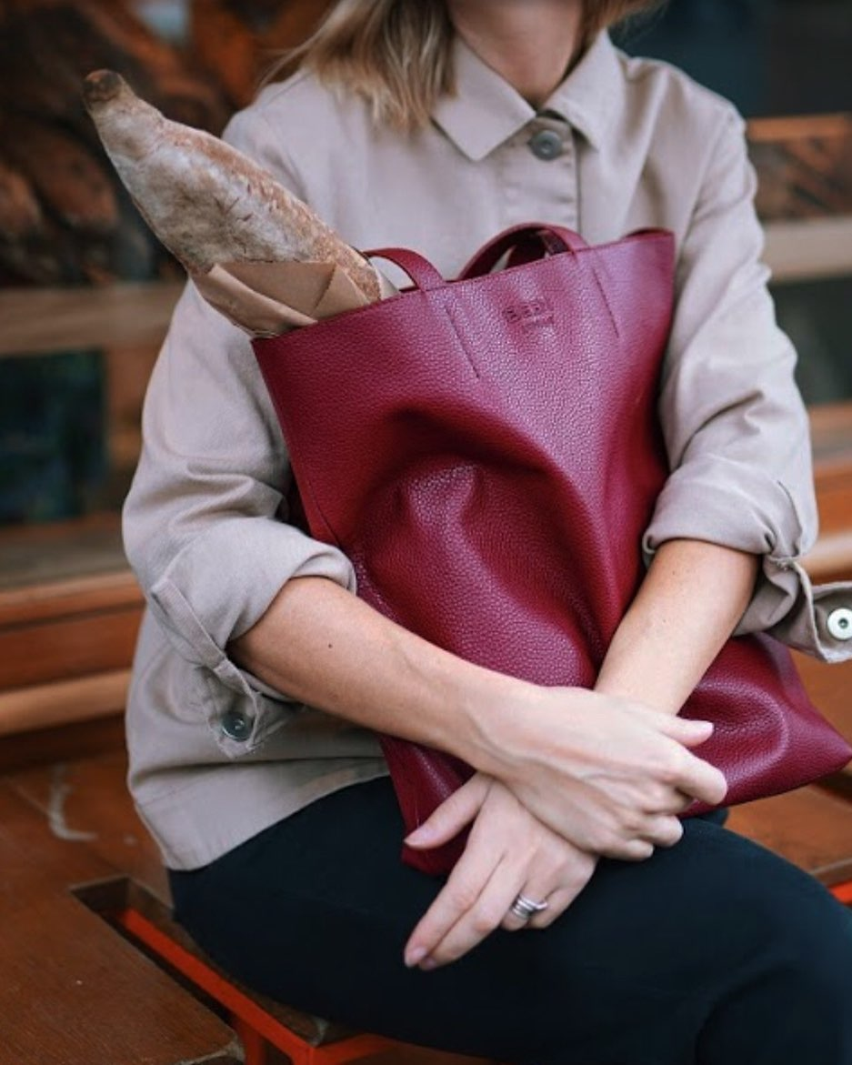BEEN.LONDON Broadway market tote, sustainable fashion, vegan leather