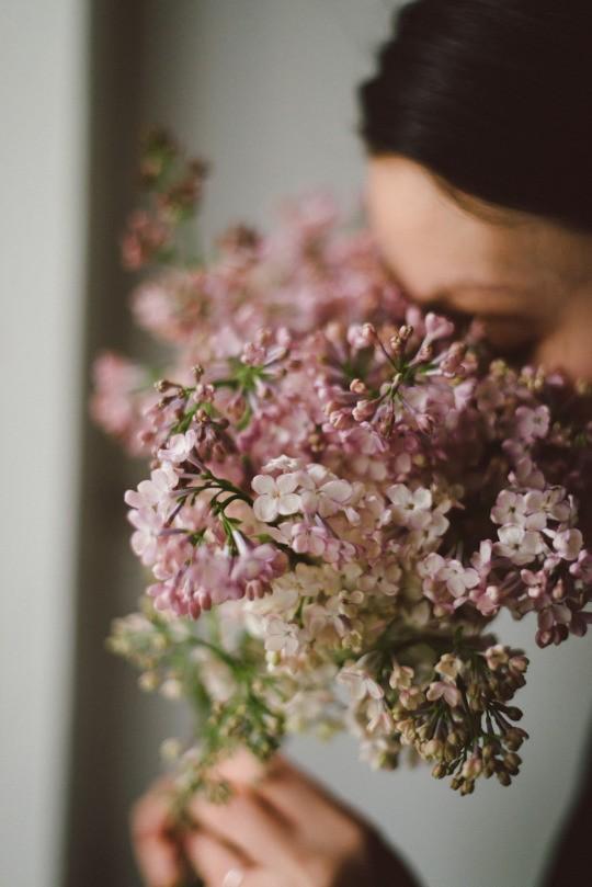 сирень, девушка, весна, май, настроение, lilac