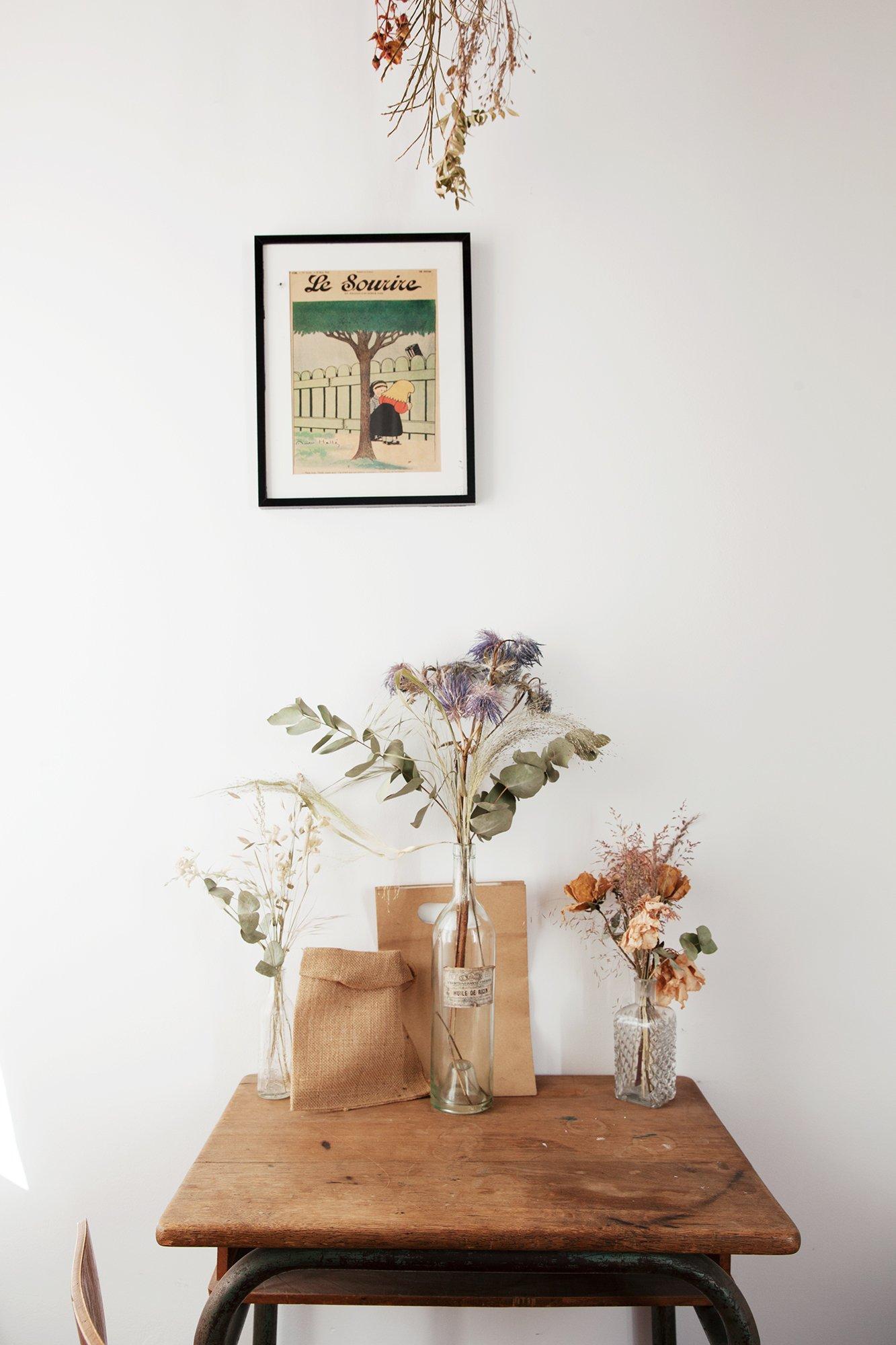 Хрупкая и вечная: красота сухих цветов от Jeanne Paris