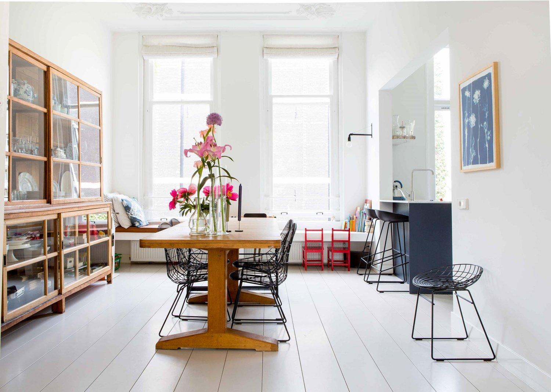 Interior inspiration: одна квартира в Амстердаме