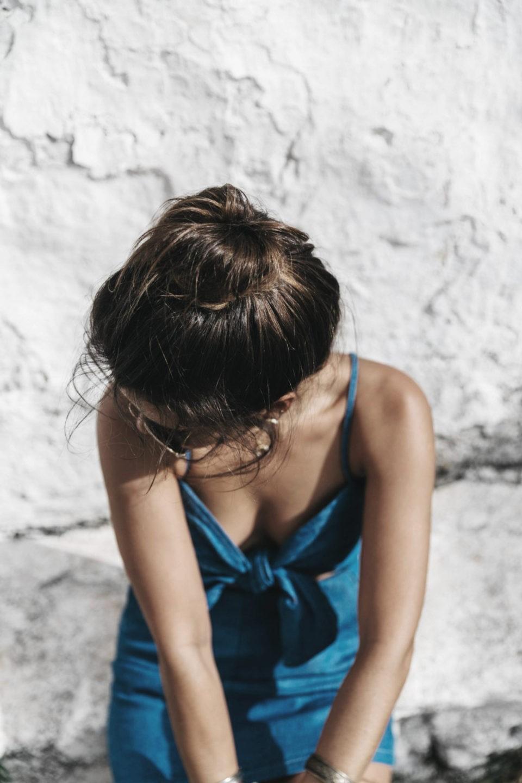 jeans dress, collage vintage, джинсовый сарафан, психология