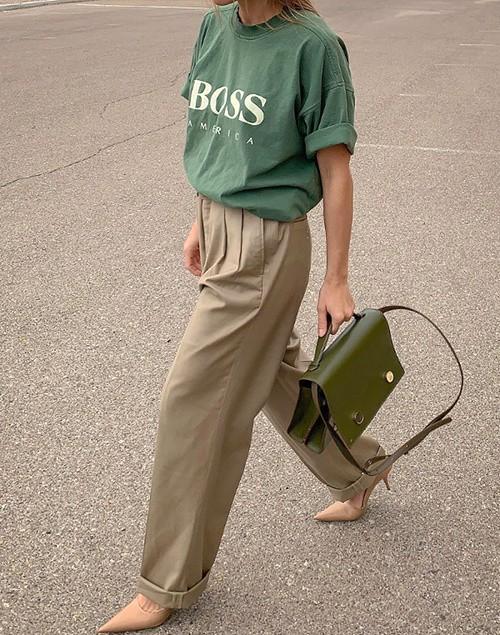 Как носить мужские вещи и не терять женственность