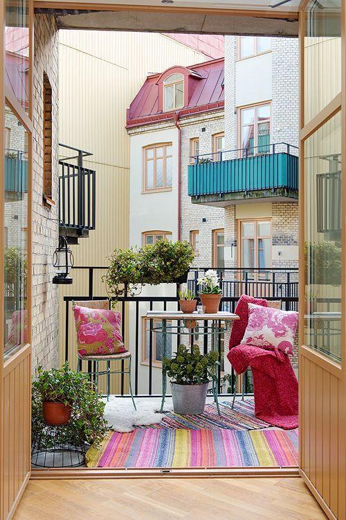 Как обустроить балкон: голландские уроки цветочной терапии