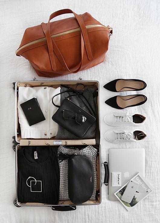 Как правильно паковать вещи в поездку: 10 советов от Hanna Stefansson