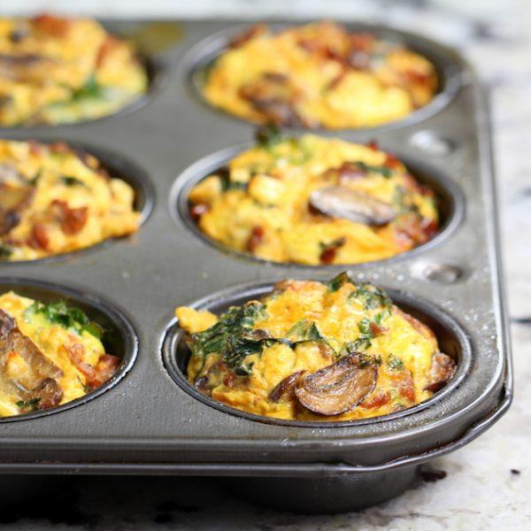 Капуста кале: омлетные капкейки с кале, полезные завтраки.
