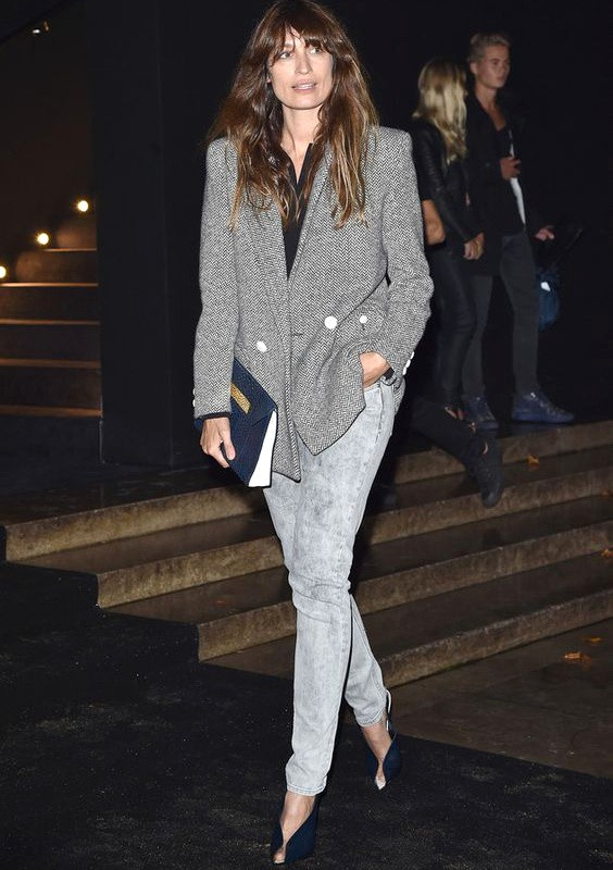 Le bon style: коренная парижанка Caroline de Maigret и ее гардероб