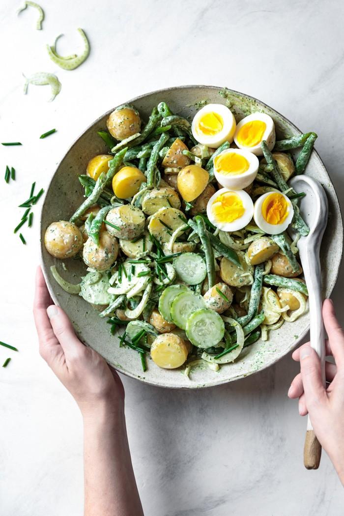 Летние обеды: салат Green Goddess от Bojon Gourmet