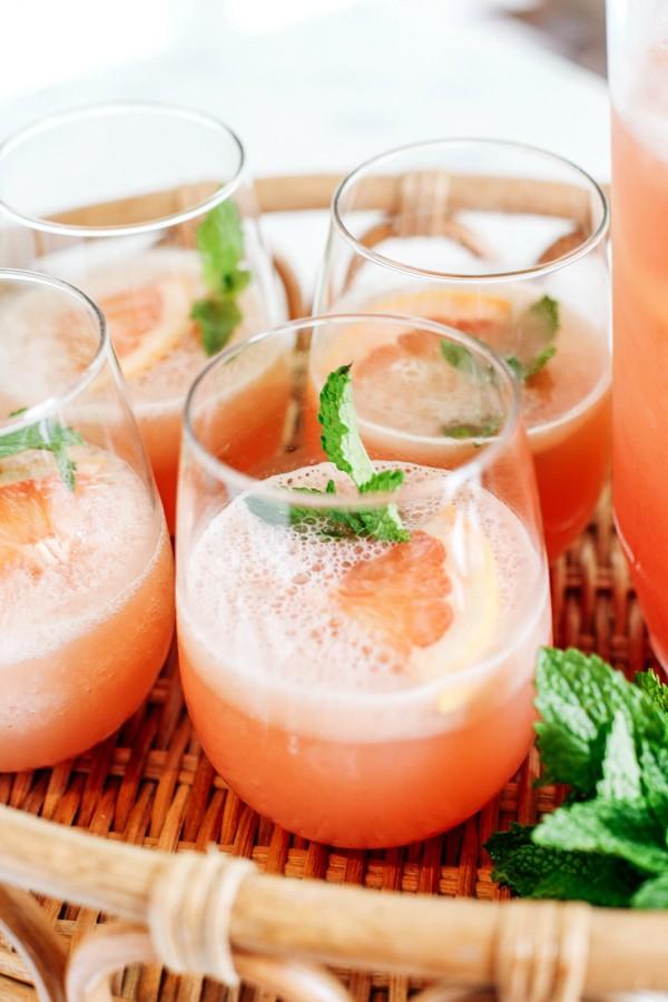 Летний аперитив: грейпфрутовый frosé