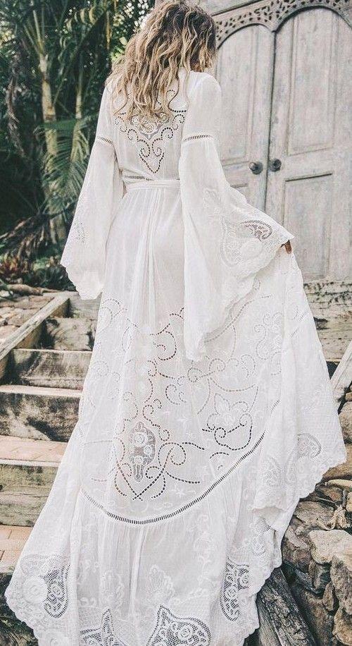 белое летнее платье в пол, тренды лето 2017, maxi white dress