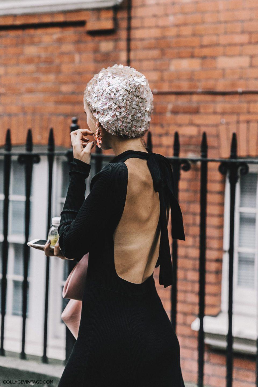 black dress open back, платье с открытой спиной