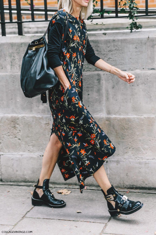 floral print, платье цветочный принт