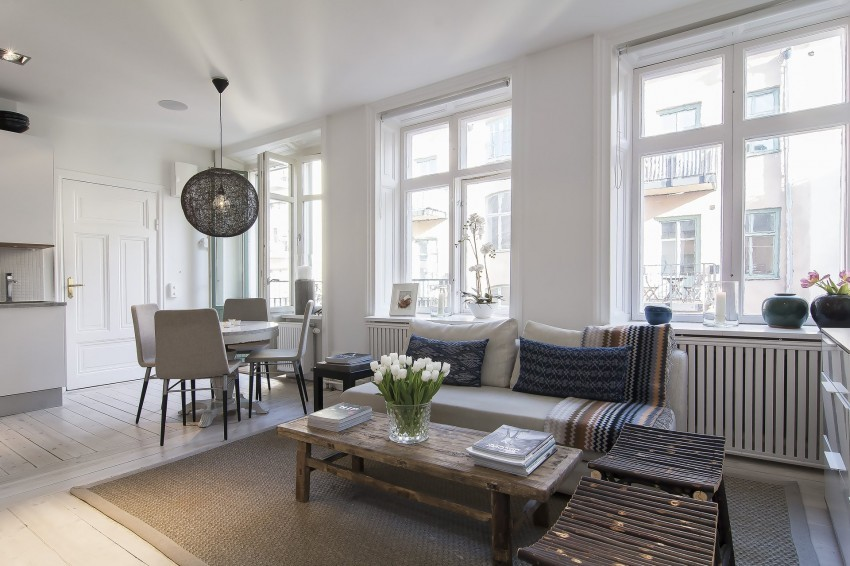 Small-Flat-in-Stockholm-Wood-Furniture
