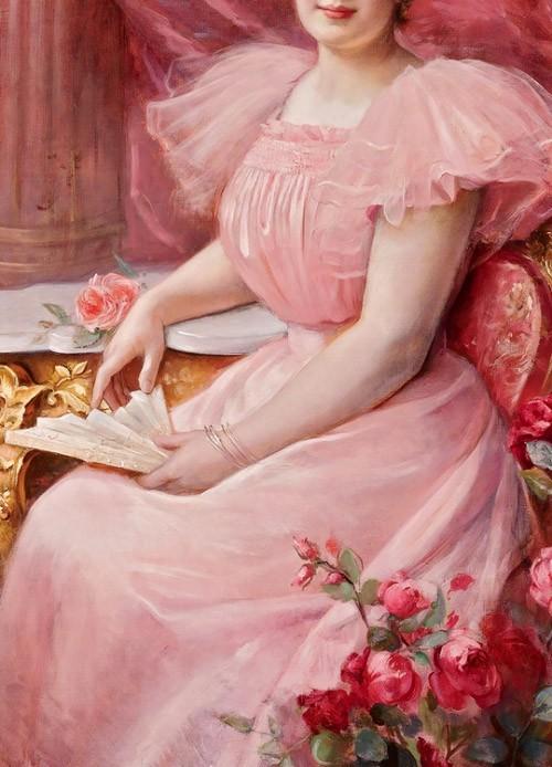 Pretty In Pink by Paul Antoine de la Boulaye