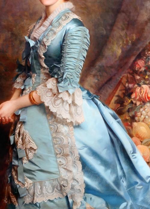 Blanche Marion Kay-Shuttleworth by Michele Gordigiani, 1876