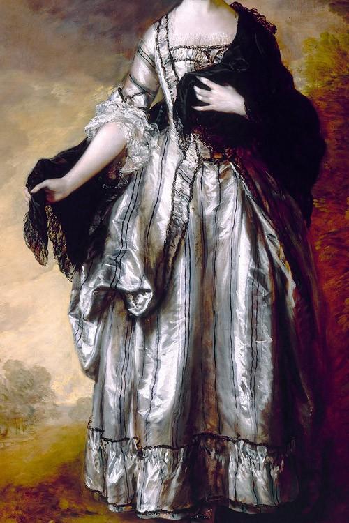 Isabella, Viscountess Molyneux, later Countess of Sefton by Thomas Gainsborough, 1769