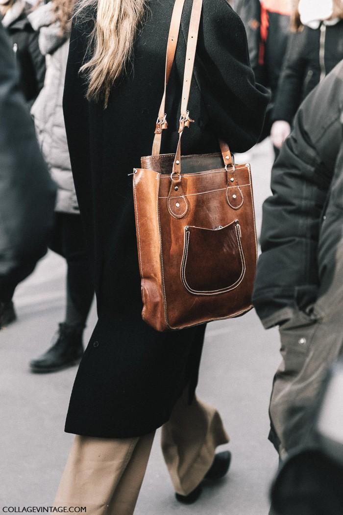 кожаная сумка, parisian chic, парижский базовый гардероб