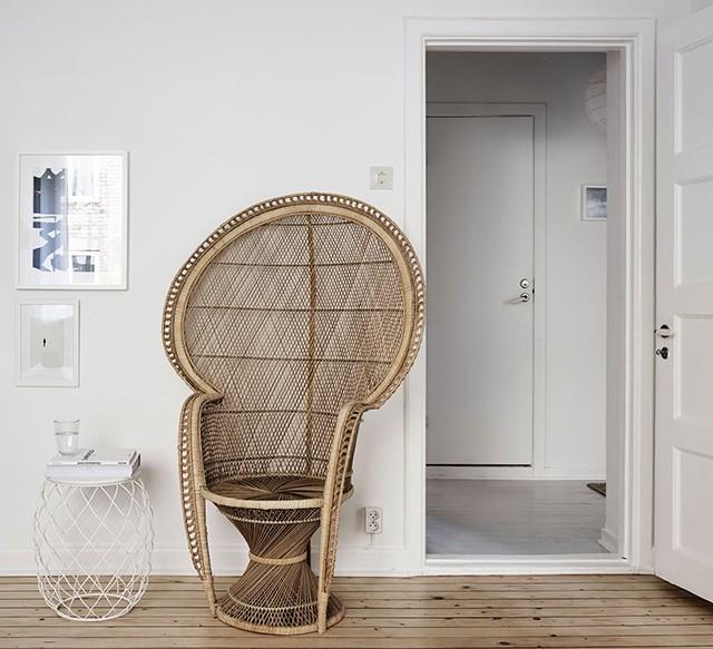 Винтаж в интерьере: винтажное кресло