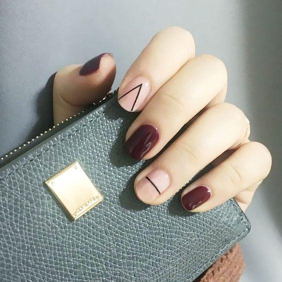 Минималистичный маникюр: 19 идей для тех, кто не любит сложный nail-art
