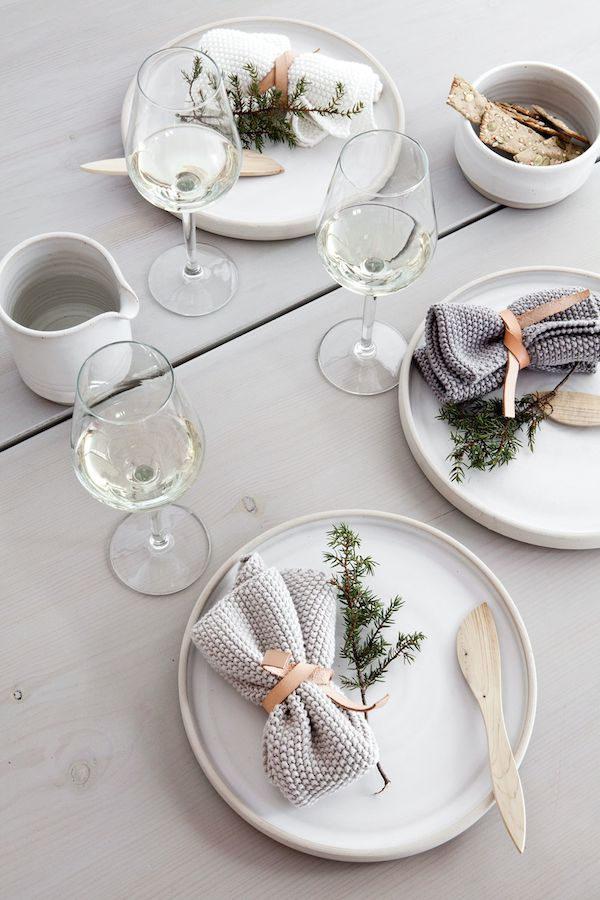 новогодний стол: идеи декора