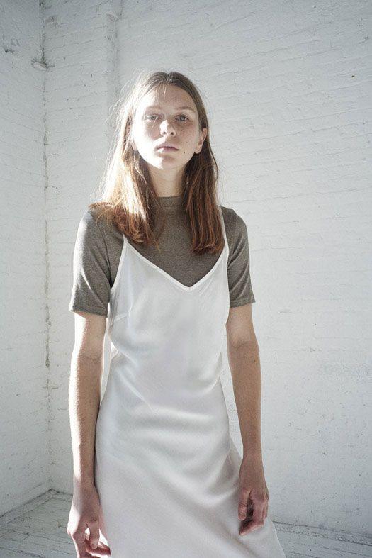 тренды осень-зима 2016, платье-сорочка на футболку