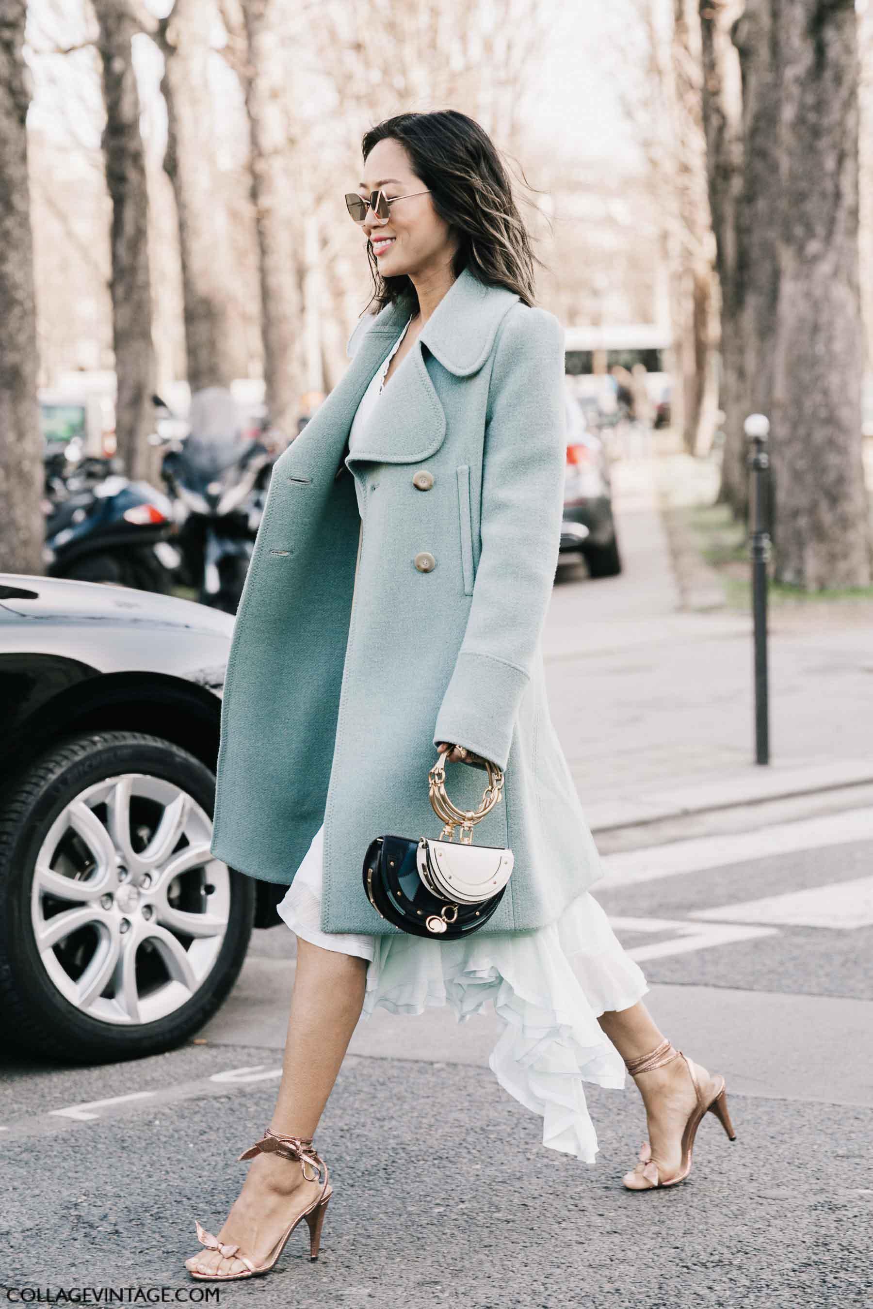 пальто, осень-зима 2017, парижский гардероб, parisian chic, parisian street style