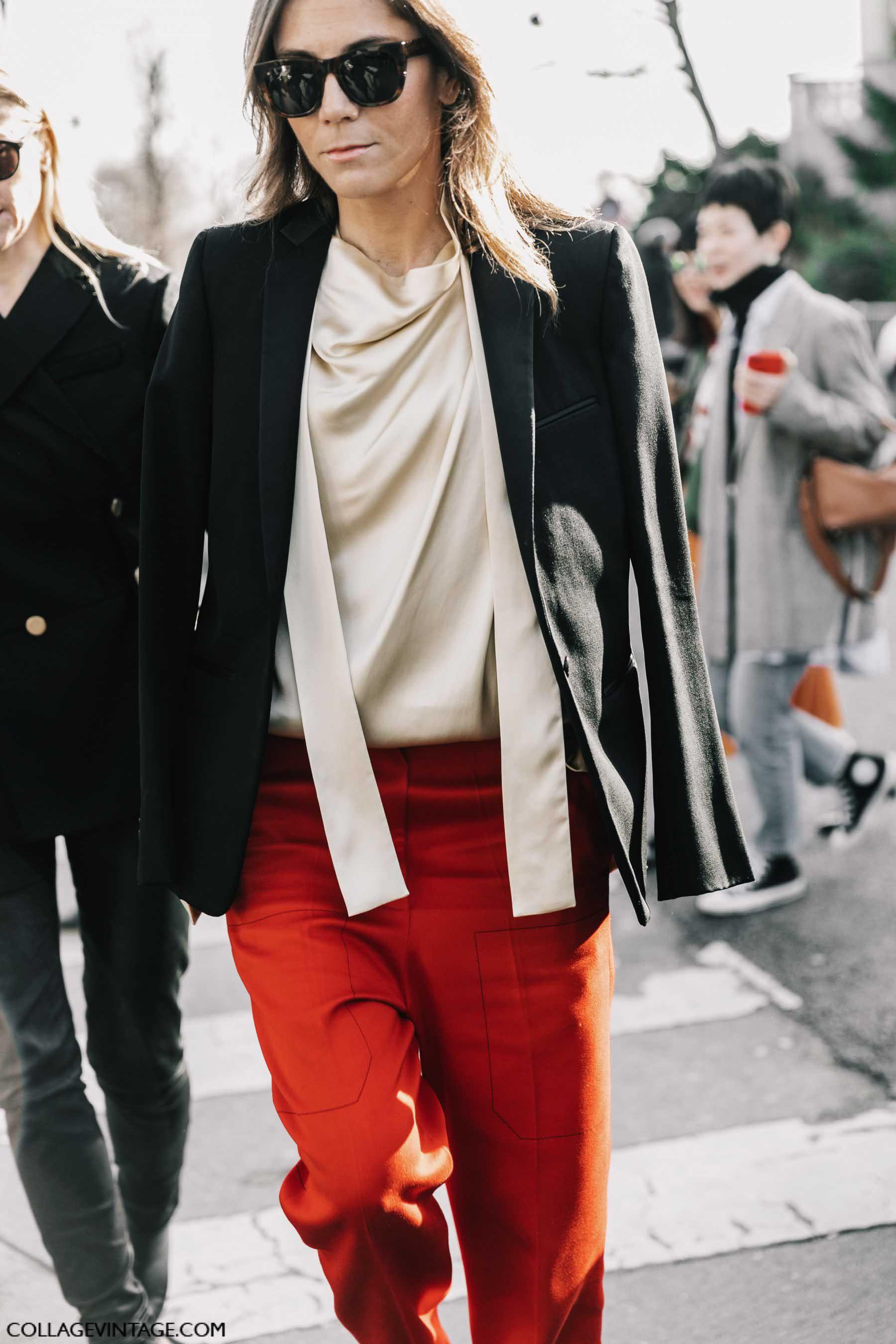 черный пиджак, осень-зима 2017, парижский гардероб, parisian chic, parisian street style