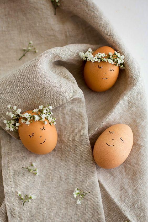 Идеи для пасхи. Декор пасхальных яиц.