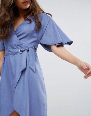 Платье с запахом: самый женственный силуэт в мире