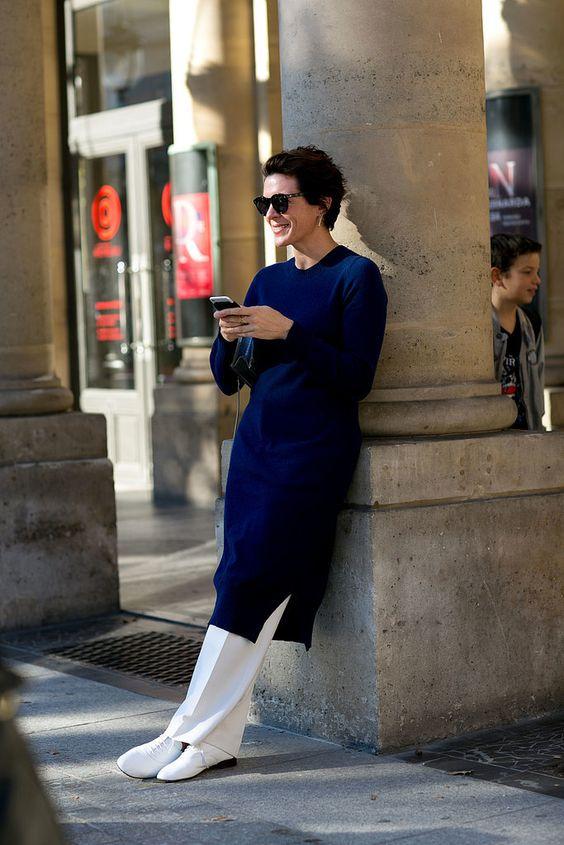 dress over pants, платье на брюки, платье со штанами