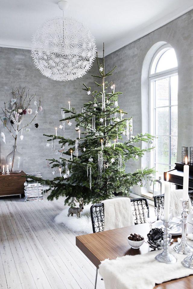 Просто елка: минималистичный новогодний декор