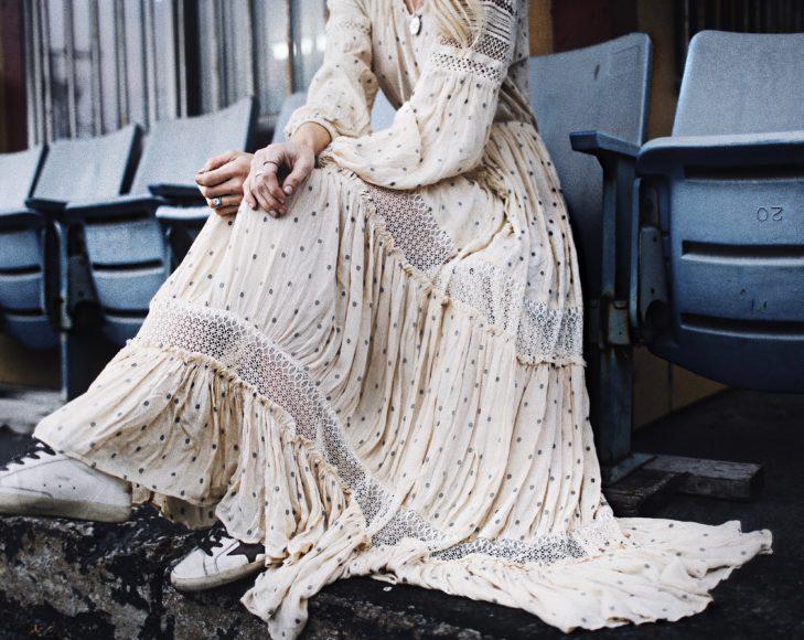 Romantic maxi dress: весенний образ от Happily Grey